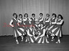 (09.06.55) Mt. Carmel High School cheerleaders are, kneeing, from left, Loretta Yuskoski and Pay Bogovich; back, Elaine Ammatero, Grace Pupo, Elaine Strike, Diana Matsko, Gilley Dallabrida, Rosalie Wargo, Susie Elko and Ginny Gedaro.