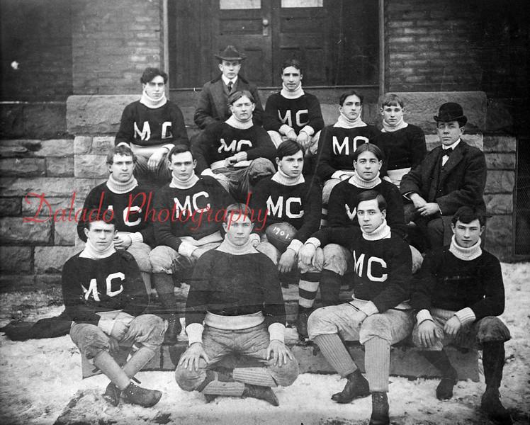Mt. Carmel football, unknown year.