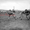 (Oct. 1955) Football, Mount Carmel.