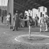 (1961) Bill Greco competing at a Mount Carmel track meet.