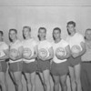 "(May 1960) ""Battista's Rebels"" from Mount Carmel Area High School were crowned volleyball champs. Pictured are Leonard Guarna, Edward Kovack, Vincent Yuskoski, Charles Greco, Richard Battista, captain; Anthony Bagushinski and Charles Karlow."