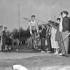 (May 1960) Mount Carmel High School track. Pictured is Len Guarna.