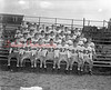 (Fall 1954) Kulpmont High School football team are, first row, from left, John Baranowski, Ralph Procopio, Chet Kruleski, John Gencavage, Joe Zyshoski, Ralph Fulginiti and Gene Sinopoli; second, Frank Procopio, Joe Cesari, Joe Rich, Leonard Bindos, Joe Milewski, Joe Alonzo and Jim Fisher; third, Donald Diak, Anthony Mirarchi, Carmen Cesari, George Tota, Charles Criniti, Carmen Ferrio and Al Sinopoli; fourth, Peter Posca, Charles Balon, Eugene Chesney, Mike Nagar, Lottie Varano, John Altmire and Tom Lazarski; fifth, Bob Murdock, Sam Miriello, Clement Marchetti, Bob White and Albert Zigarski.