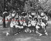 (1965) Mount Carmel Area High School cheerleaders.
