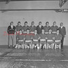 (1966) Mount Carmel High School hoops team are, front row, from left, Frank Niglio, Harry Brennan, Jake Wojcik, Greg Doviak, Gerry Delany and Joe Woytowich; back, Joe Chesney, Ron Butkera, Joe Buchinski, Mike Mychak, Coach Bob Varano,  Earl Maurer, Jack Kehler and Rich Americk.