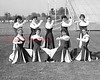 (09.11.58) Mt. Carmel High School cheerleaders are, kneeing, from left, Sandra Falkie, Ade Marquette, Pat Guarna and Carole Boyle; standing, Catherine Lucas, Ruth Beierschmitt, Beverly Maurer, Virgina Pietrewicz and Roseanna Karlovich.