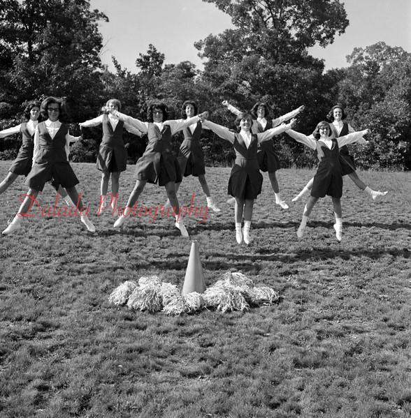 (1965) Our Lady of Lourdes cheerleaders