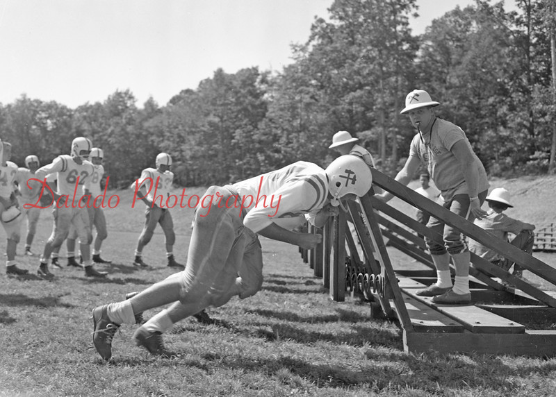 (1960) Leo Mulhall and the Red Raiders.