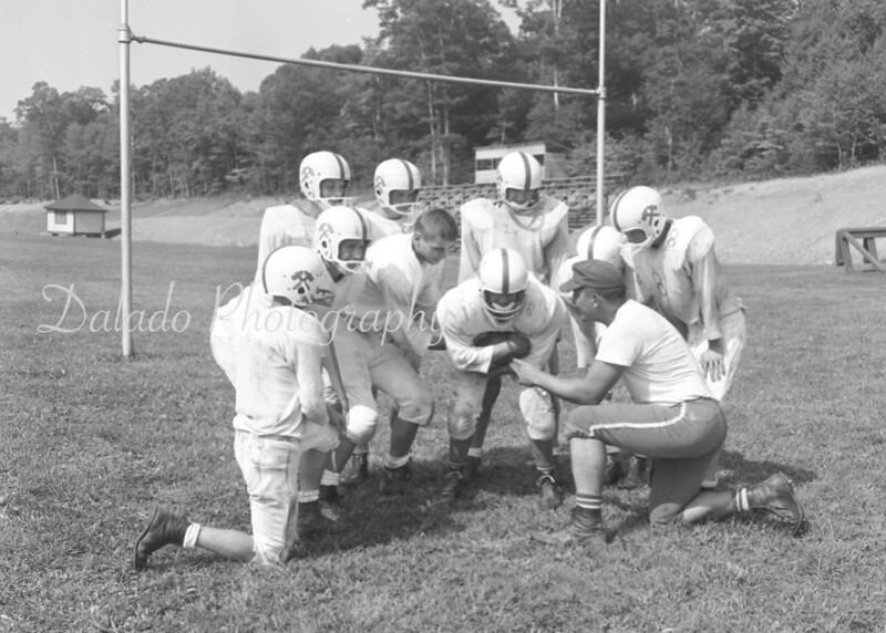 (1961) Our Lady of Lourdes Regional School football.