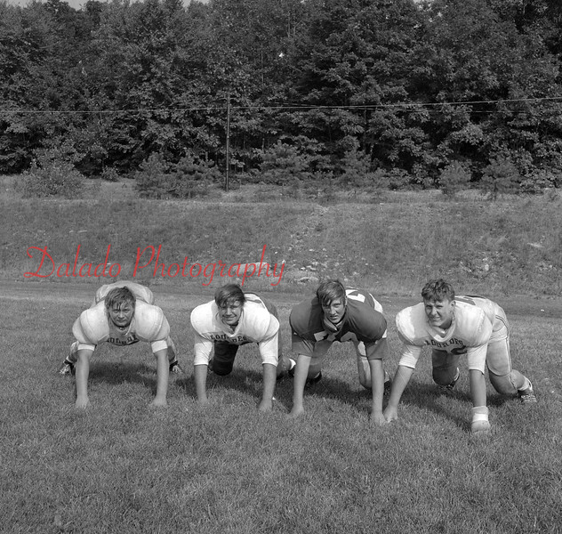 (Aug. 1971) Our Lady of Lourdes football.
