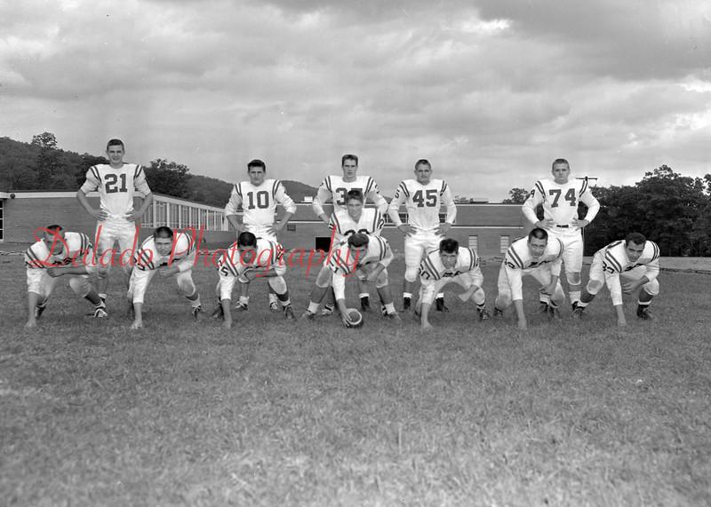 (1960) Red Raiders football.