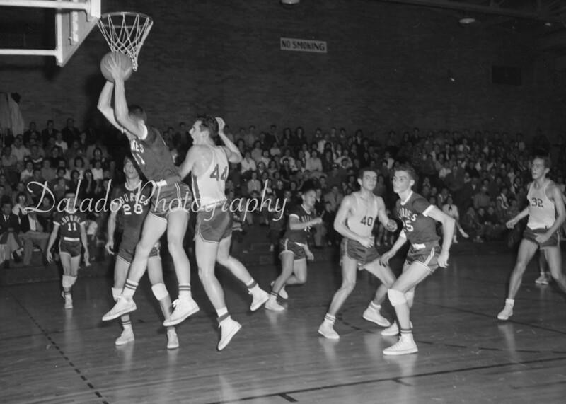 (1961) Our Lady of Lourdes Regional School basketball.