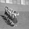 (1960) Lourdes cheerleaders.