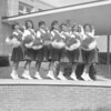 (1961) Our Lady of Lourdes Regional School cheerleaders.