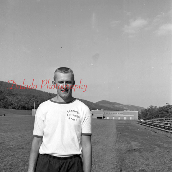 (1958 or 59) Our Lady of Lourdes coach.