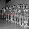 (1961) Our Lady of Lourdes basketball team.