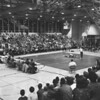 (02.28.59) District 4 Wrestling at the Annex. Wrestling is Coal Township's Bob Miller and Shamokin's Charles Carpenter.