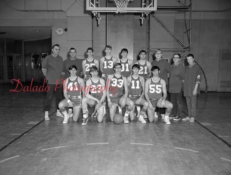 (1971) Shamokin Area High School basketball.