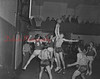 (Jan. 1951) Basketball game, unknown gym.
