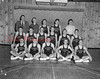 (12.02.54) Shamokin High School basketball team are, front row, James Gillispie, Frances Barber, Gilbert Moore, Bob Herstetter and Gary Rumberger; second, Marlin Weaver, Darwin Williams, Allen Updegrove, James Krebs, Phil Klemaszewski and Lewis Krebs; third, Coach Frank VanDeenber, student manager James Williams, Charles Shalogo, Don Carsto and student manager Peter.