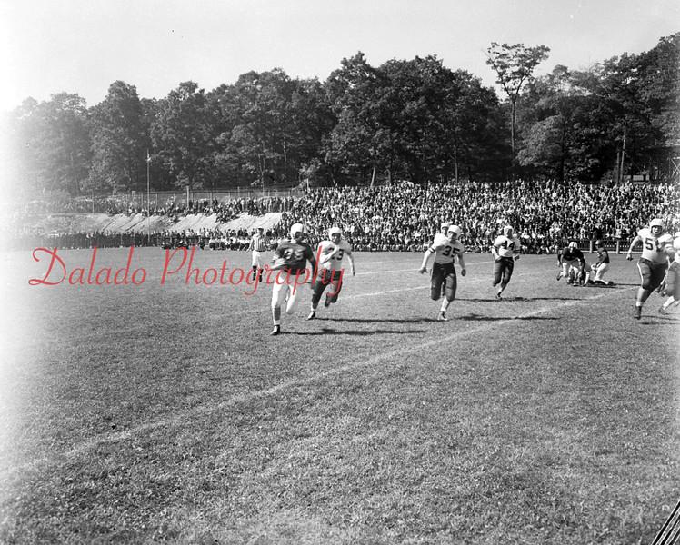 (Oct. 1951) Shamokin football at Edgewood Park.