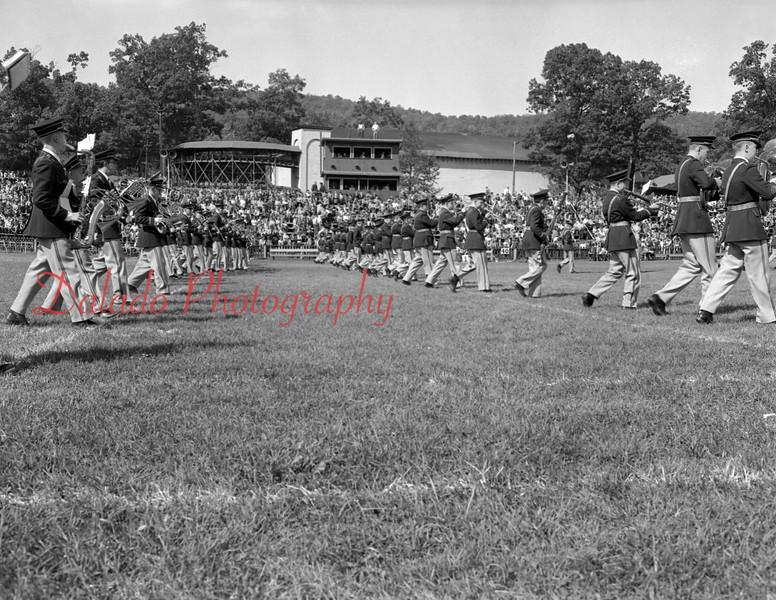 (1955) Football at Kemp Memorial Stadium.