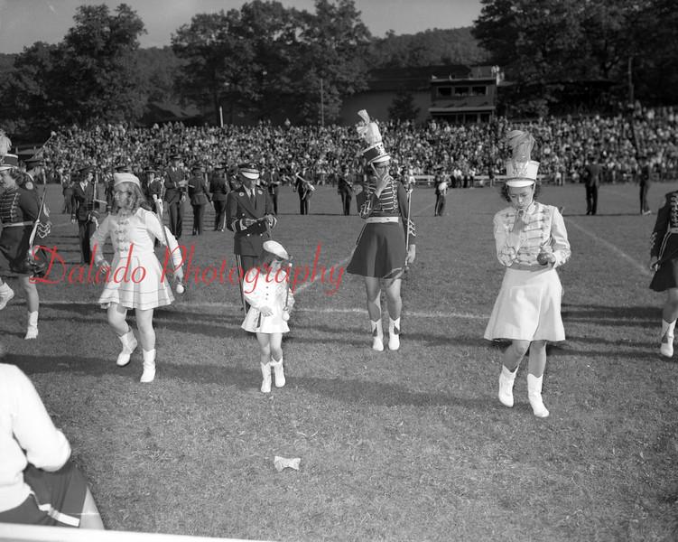 (1949 or 1950) Shamokin football at Edgewood Park.