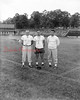 (09.11.58) Shamokin Greyhounds football staff are Harold Thomas, assistant coach; Lou Sorrentino, head coach; Mal Paul, assistant coach.