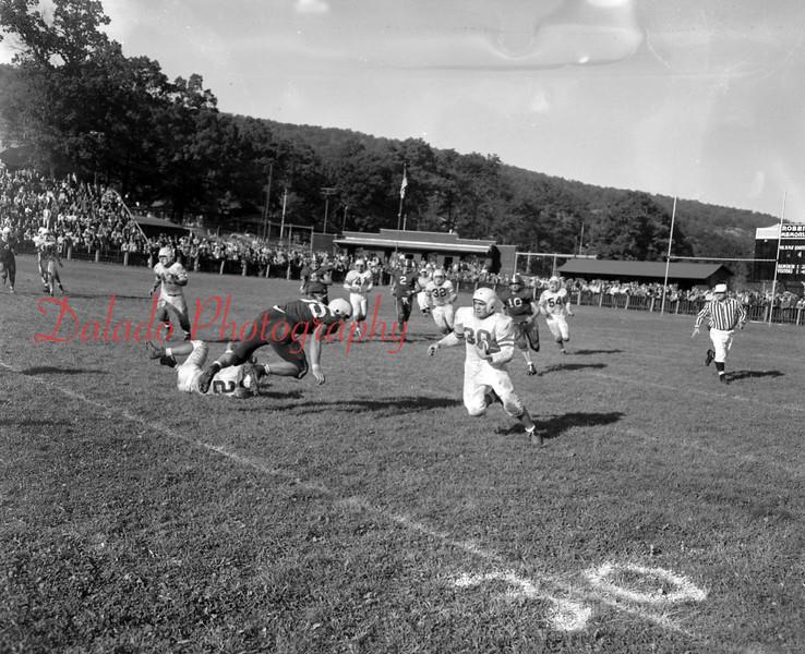 (Oct. 1955) Football, Coal Township versus Shamokin.