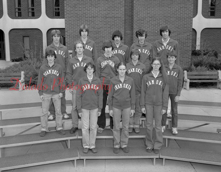 (Fall 1978) Shamokin Area High School track and field.
