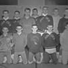 (1961) Shamokin wrestlers.