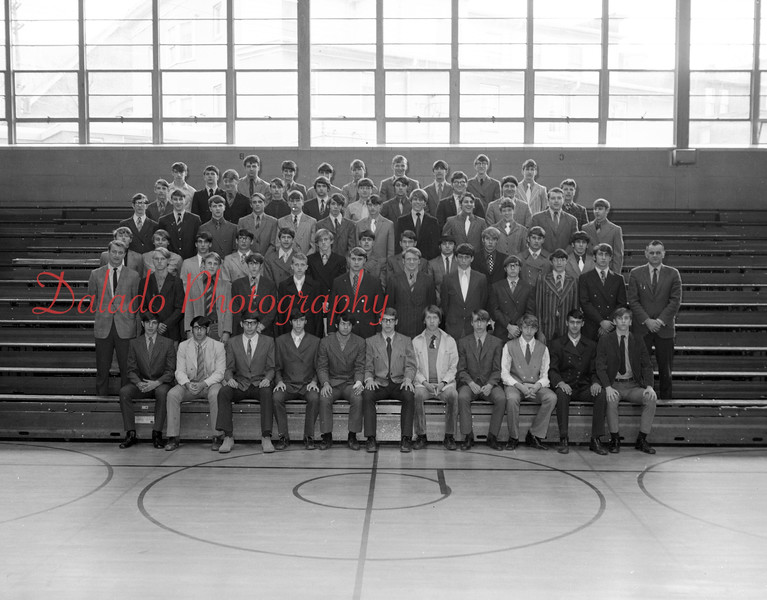 (1971) Shamokin Area High School varsity club.