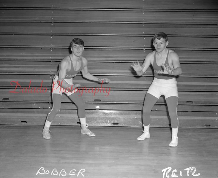 (1967 to 68) Shamokin Area High School wrestling.