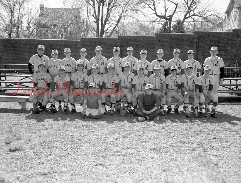 (1971) Shamokin Area High School baseball.