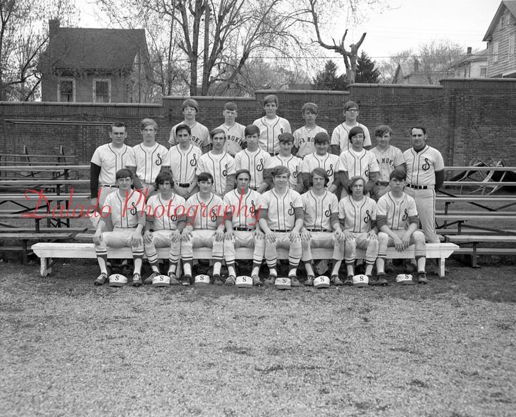 (1972) Shamokin Area High School baseball.