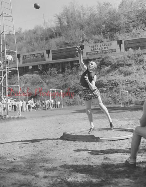 (1957) Shamokin High School track.