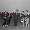 (Oct. 1951) Optimist's Piggy Bank football game at Baltimore Memorial Stadium. Game on Oct. 21, 1951.