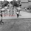 (June 1955) Mount Carmel Little League annual parade.