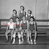 (01.06.55) St. Stephen's basketball are, front row, from left, Henry Stutz, Jack Stutz, Richard Laskoskie and Joseph Palacz; second, Joseph Merena, John Merena and William Bodnar.