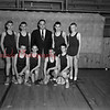 (03.22.56) Shamokin all-stars for basketball are, kneeling, Charles Ehler, Don Haertter, Francis Varano and Thomas Savidge; standing, William Spears, Steve Magyar, Carl Giles, coach; Mike Klembara and John Young.