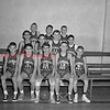 (01.06.55) St. Edward's youth basketball are, front row, from left, Joseph Senous, James Laughlin, Carmen McKenzie, Don Haile and Pat Brennan; second, John Golombefski, Edward Eagen, William Jones and John Bogush;  third, Robert Gaughan, Richard Knapp and Edward Haile.