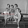 (01.06.55) St. Joseph's of Danville are, front row, Bill Maize and Tom Kingston; second, Jim Maiers, jay hurst and Albert Morgan.