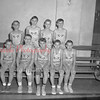 "(01.06.55) St. Stan's ""A"" basketball team are, first row, Eugene Strunk, Carl Glazik, Ed Apollo, Ray Zaleski and Leon Paplaski; second, Marian Yucha, Bernard Suchocki, Alvin Balchunas and Daniel Broney."