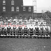 (10.22.53) Wildcats football are, front row, from left, B. Kahler, K. Dietrick, H. Strine, J. Hodge, G. Edwards, T. Pickering, R. Dilliplane, E. Marcheski and B. Frederick; second, N. Wallish, C. Mustaccio, J. Derovich, J. Avellino, H. Stutz, B. Yeager, J. Mroz, B. Pezetski and R. Wise; third, Ronnie Haas, coach; M. Gillespie, M. Reagan, J. Lashay, H. Miller, P. Swank, G. Hertzog, T. Martini and S. Grego.