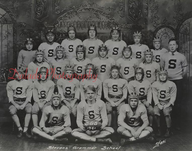 (1941) St. Steven's football.