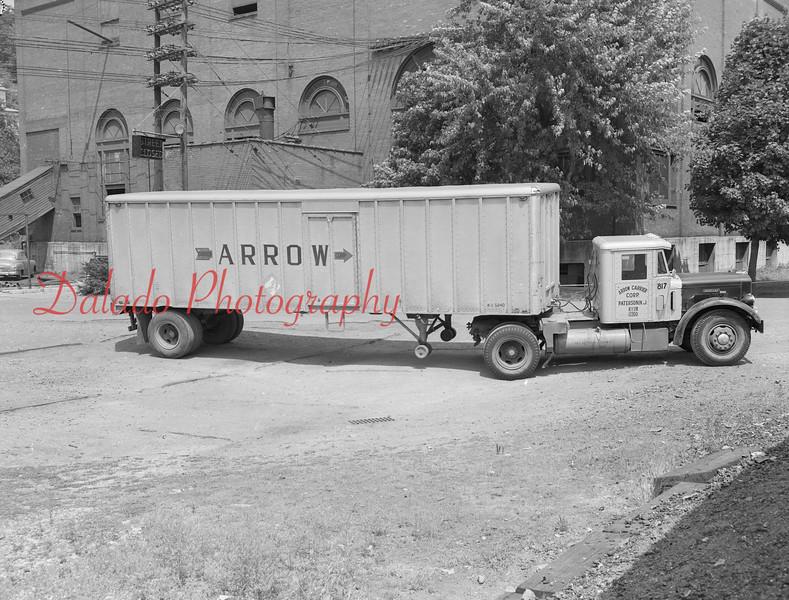 An Arrow truck.