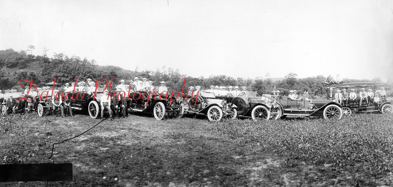 (Unknown Date) Annual outing of employees of the J.H. & C.K. Eagle Silk Mill at the Shamokin Driving Park.