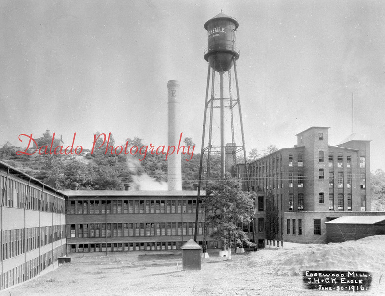 (1916) J.H. and C.K. Eagle along Arch Street in Coal Township.