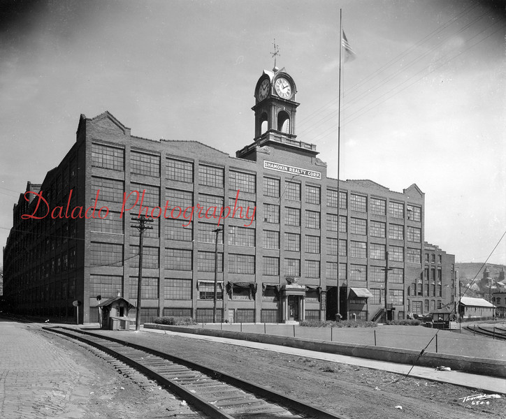 "J.H. & C.K. Eagle Silk Mill ""The Mill""-  Opening in 1917, this building contained 500,000 square-foot of floor space; 4,808,500 cubic-foot of brick; and 16 miles of pipe for heating and sanitation purposes."