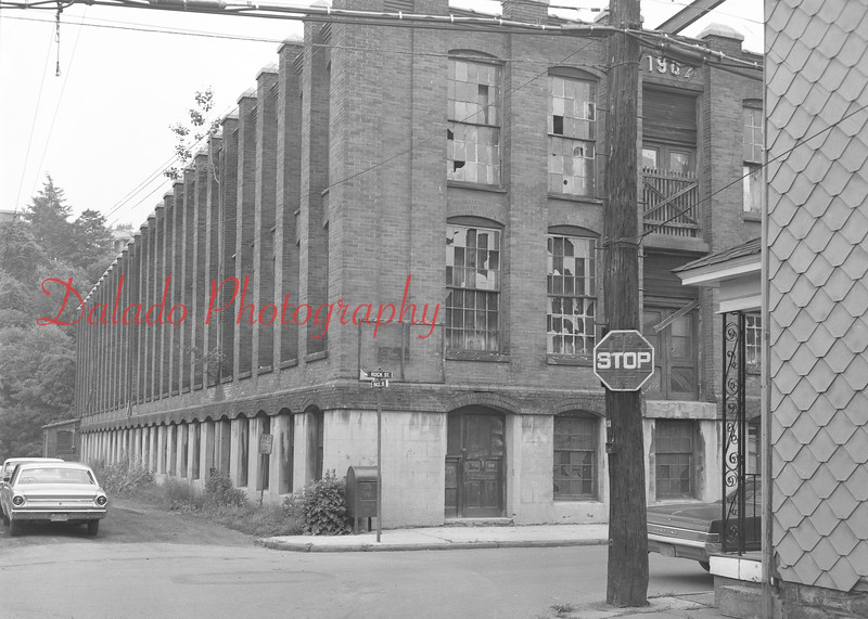 (06.27.69) Bernstein Mill along Rock Street. This is now the location of the pool.